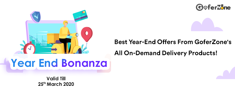 Best Year-End Offers From GoferZone's On-Demand Delivery Products! 1
