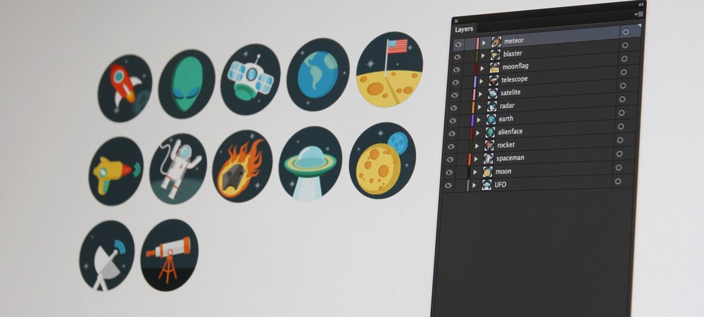 How to: Export multiple icons to SVG files from Adobe