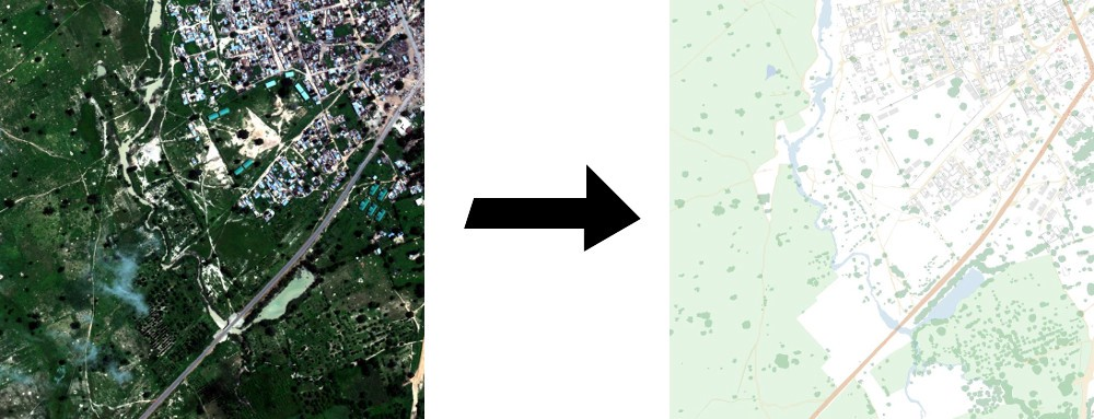 Satellite Image Segmentation: a Workflow with U-Net