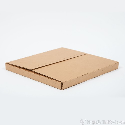 """50 12/"""" 400gsm Record LP Strong Peel Seal Corrugated Card Brown Envelopes Mailer"""