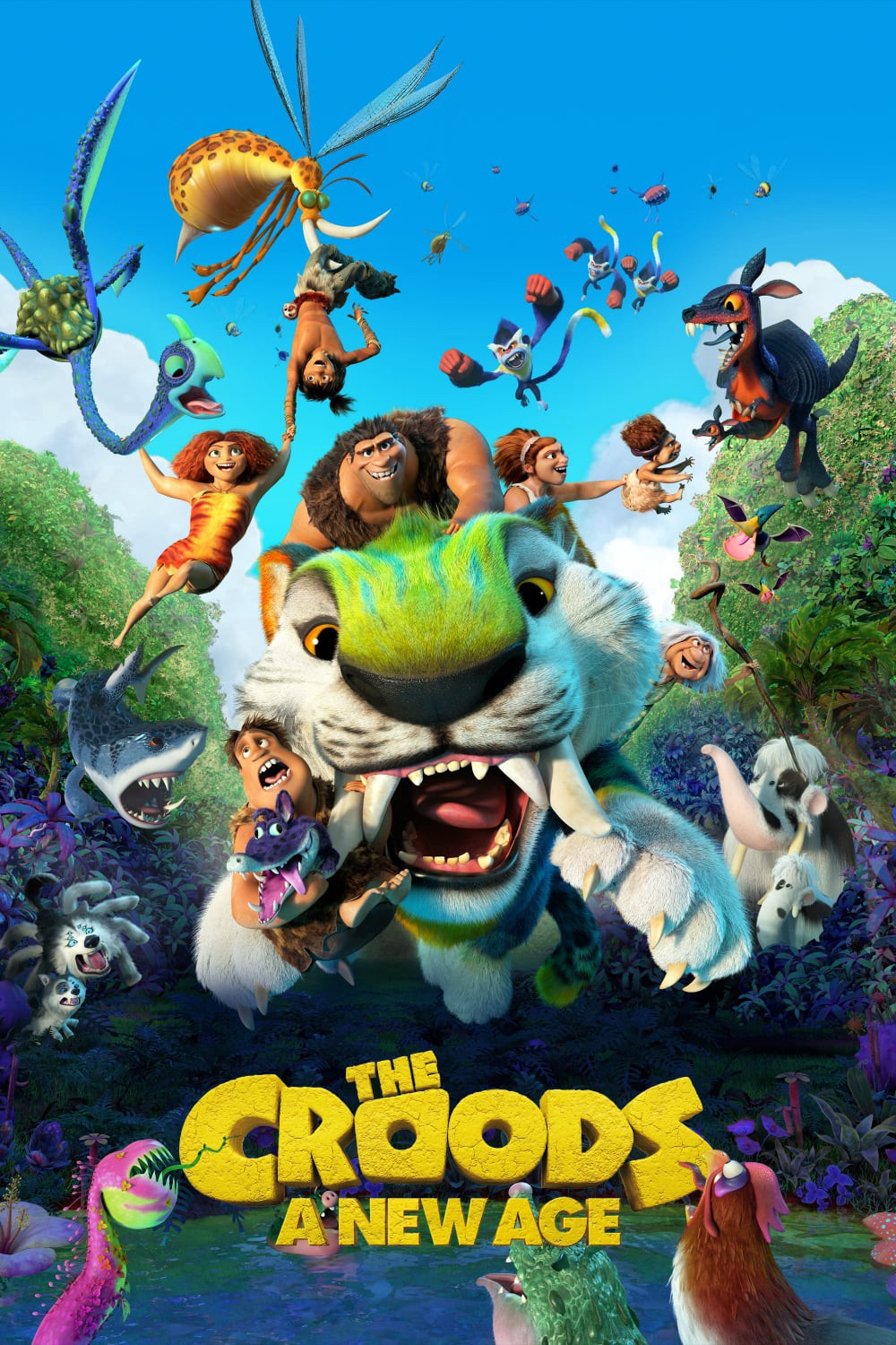"""EXCLUSIVE! — The Croods: A New Age 2020"""" FULL MOVIE WATCH"""" - (1080p) 