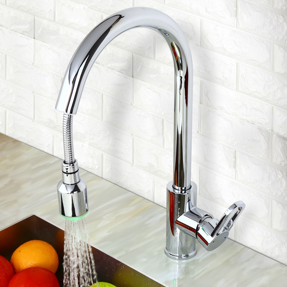 Best LED Kitchen Faucet with Pull-Out Sprayer - Best Faucets ...