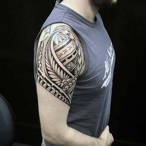 Mens Awesome Upper Arm Tattoo Models Tattolover Medium