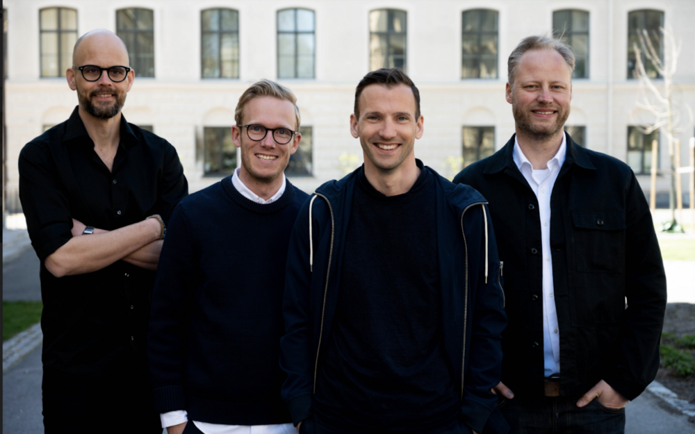 Peter, Aron, Kristofer and Stefan- the team behind Willa- co-headquartered in Venice, California, and Stockholm