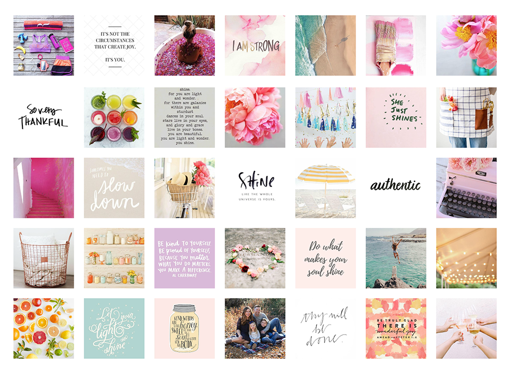 Create your own vision board.