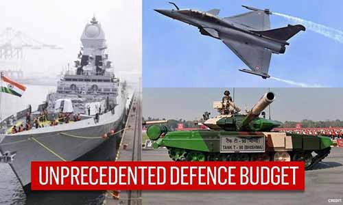 Defence Budget 2021 To See Unprecedented Hike Reflecting 5-year Modernization Plan