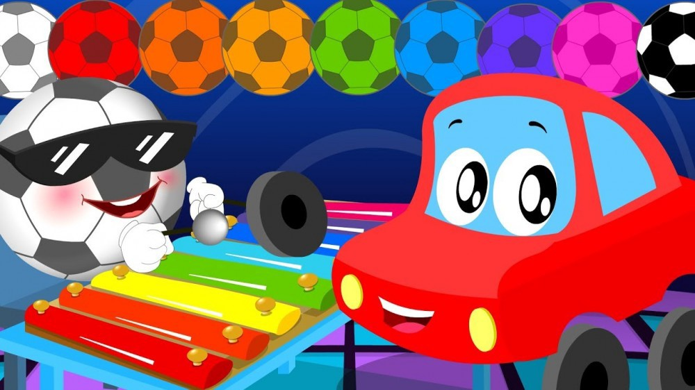 Little Red Car >> Color Song Little Red Car Cartoons For Kids Tubikids