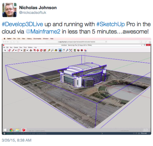 Build with Frame, run Revit on Mac - Speaking of the Cloud…