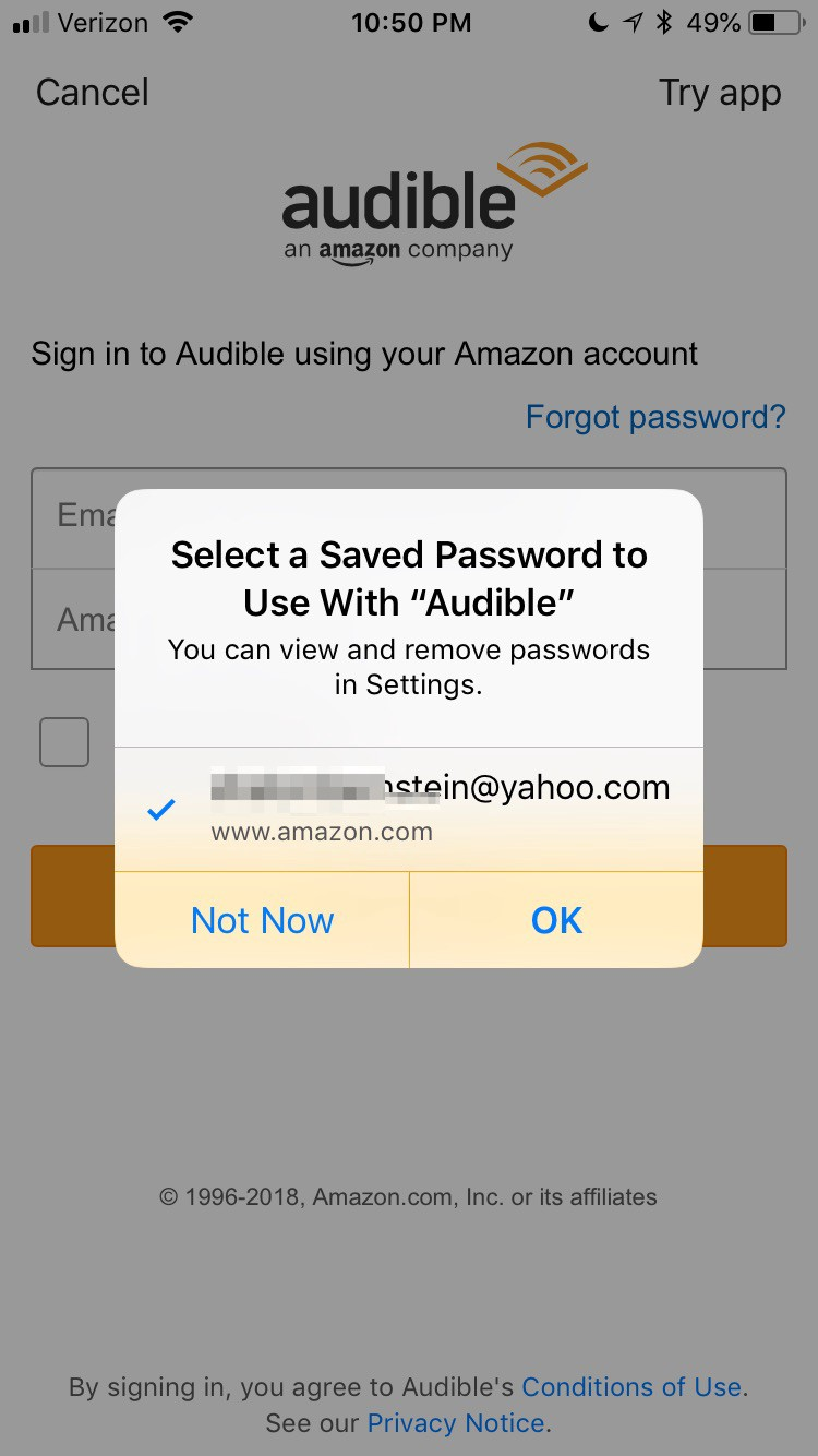 Audible for IOS— Usability & Accessibility Analysis