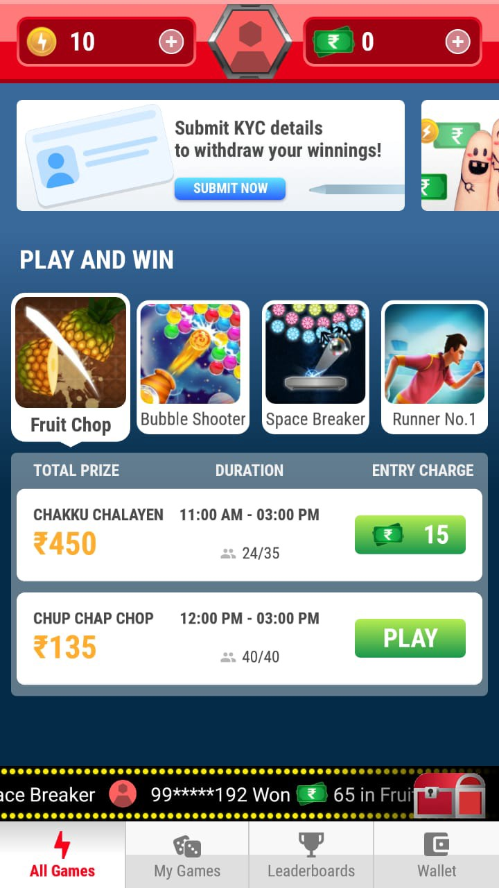 How to Earn Money via Referral to friends and play Cash Tournaments