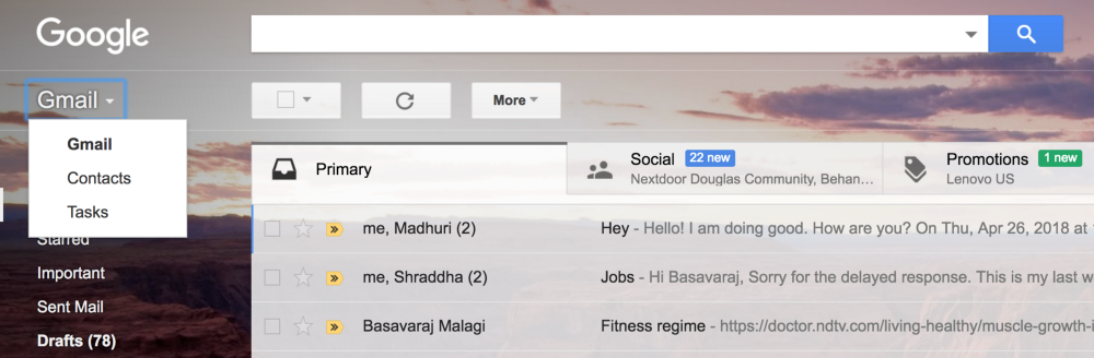 Gmail redesign: Thoughts on new version of Gmail - Madhuri Hebbal
