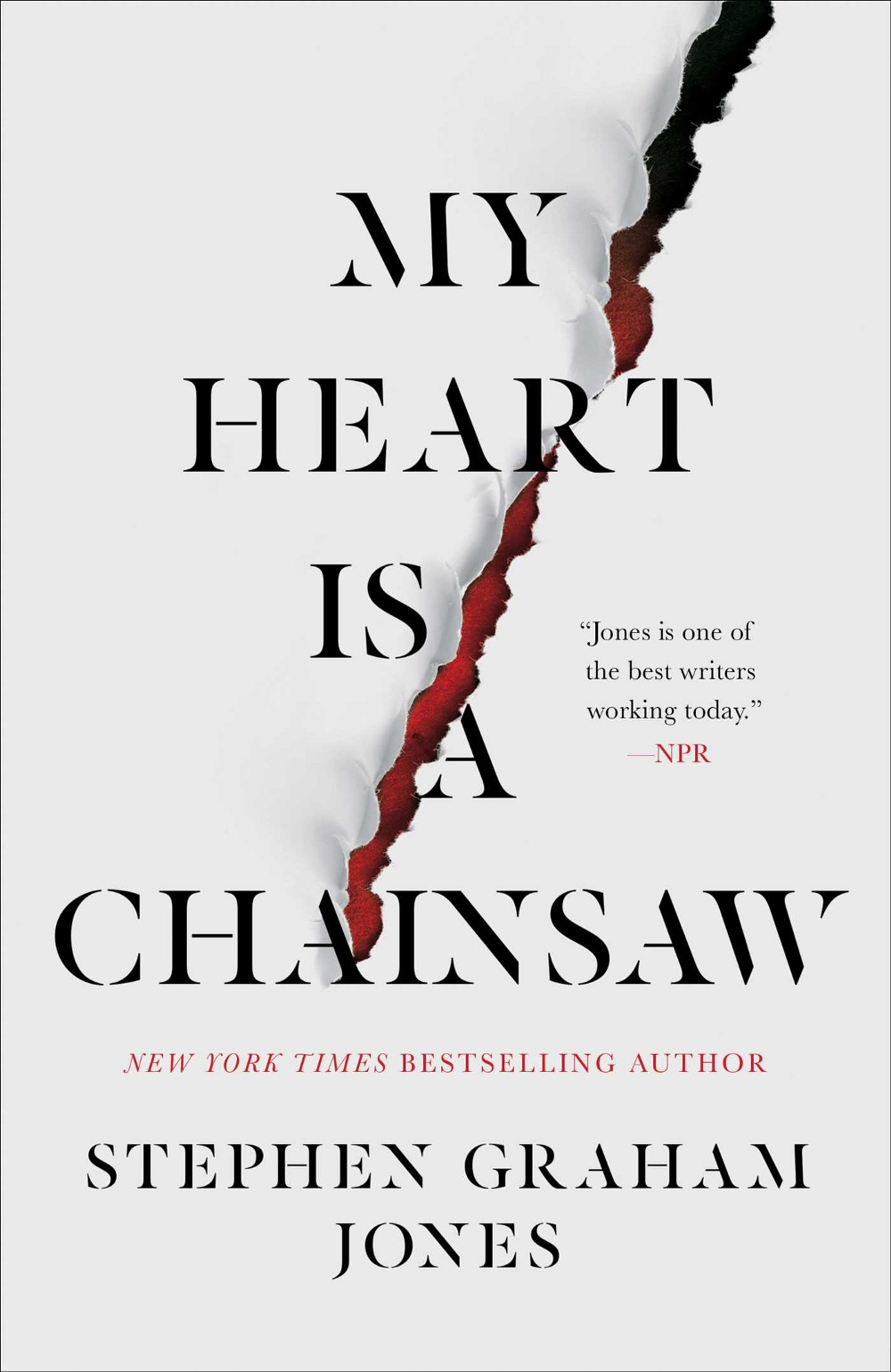 """""""My Heart Is a Chainsaw"""" Book Cover"""