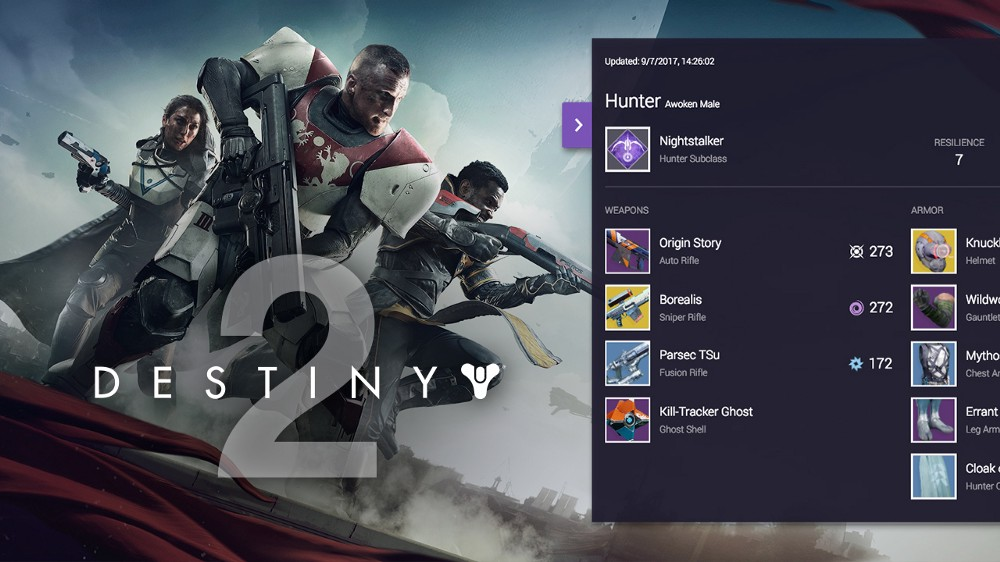 Show what your Guardian is made of with the Destiny 2 Armory Overlay