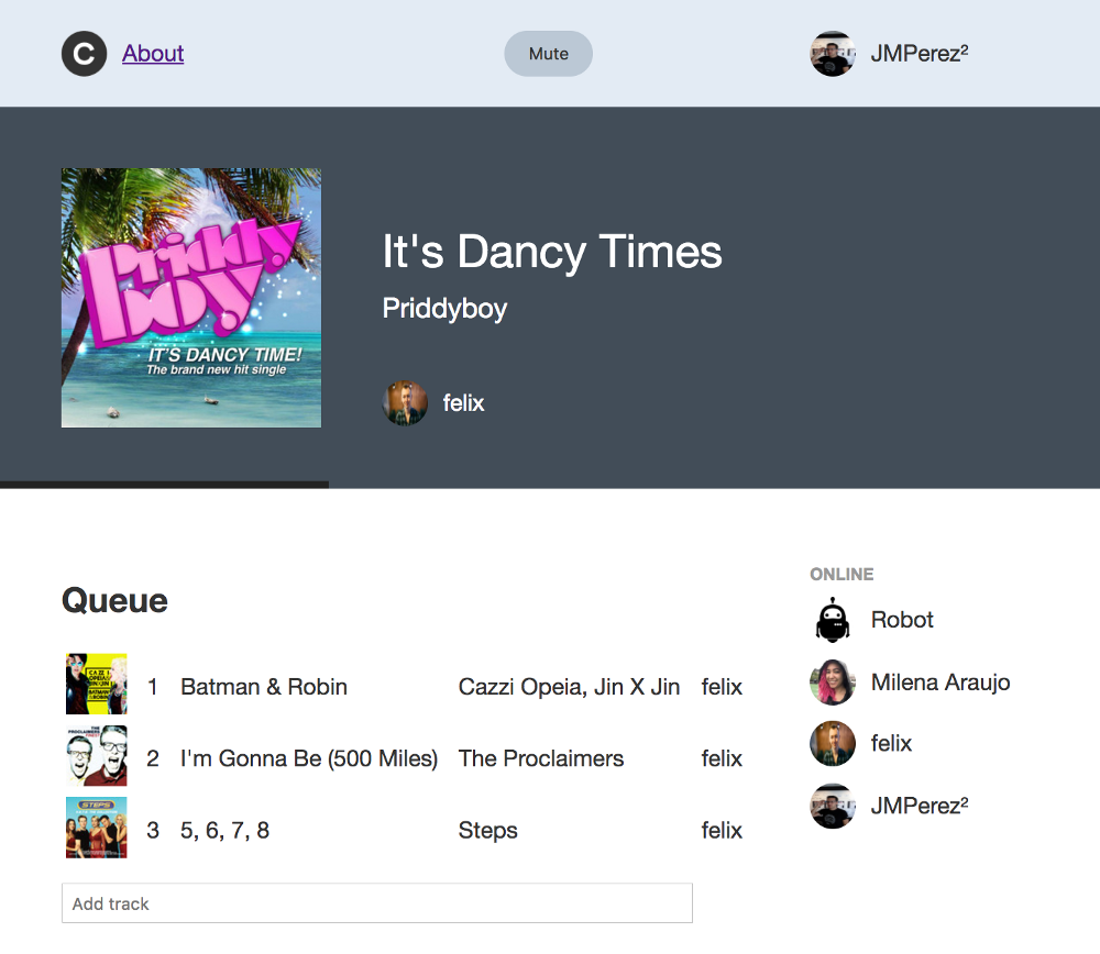 Collaborative listening on Spotify using Connect endpoints