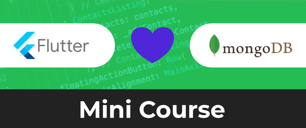 Fullstack Flutter and MongoDB Cloud Mini-Course | FREE TO WATCH!!!