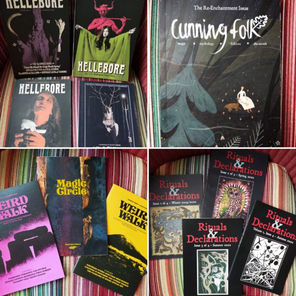 """Personal """"zine"""" collection, part 1."""