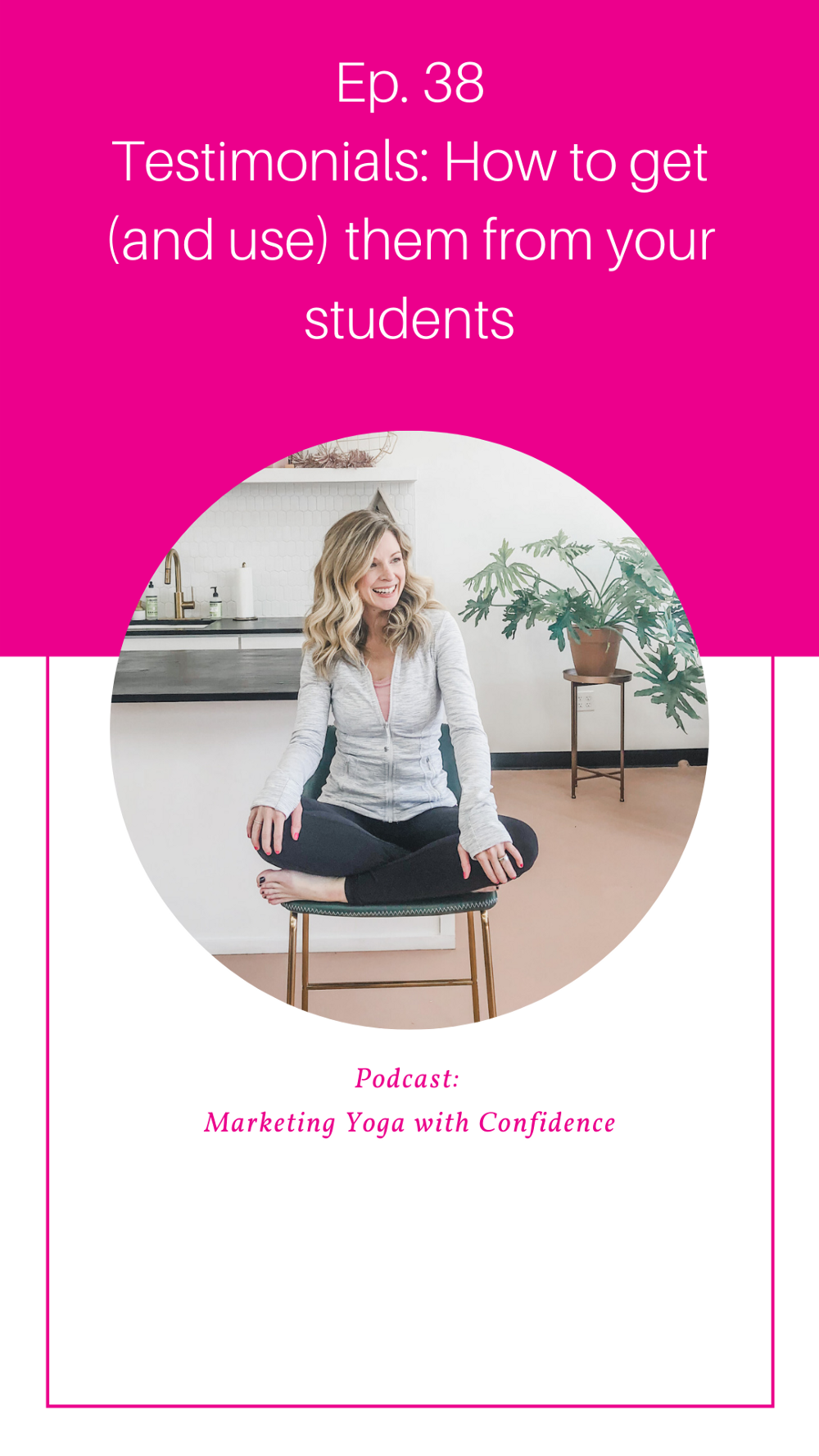 How to get testimonials from your yoga students to help teach yoga online