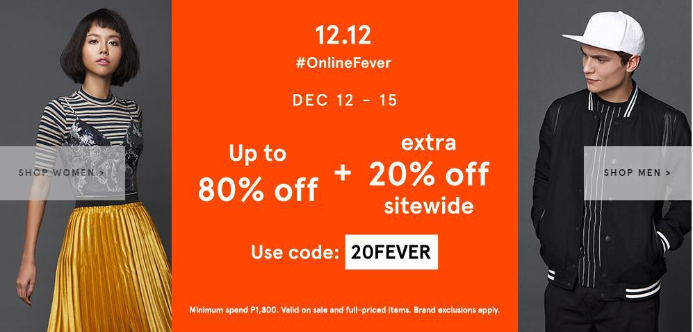 0100990b94b4 12.12 — Online Fever Sale at Zalora Philippines – Lisa Jay – Medium