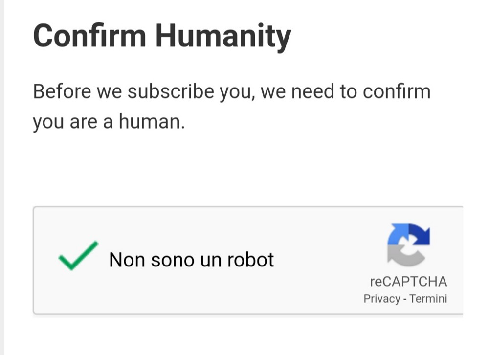 Confirm Humanity, I'm not a robot