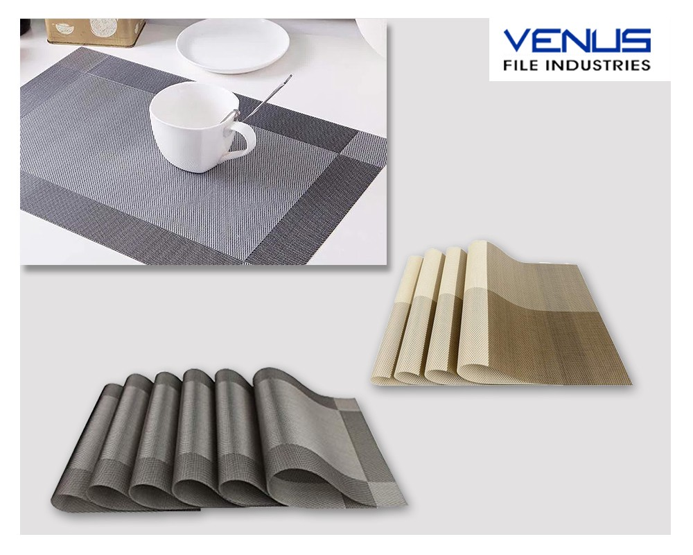 Fix The PVC Table Mats to Blend With The Other Decor Items of The House