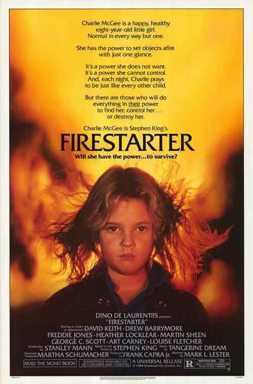 "Firestarter (1984, Dir  Mark L  Lester) - ""You Need To See This"