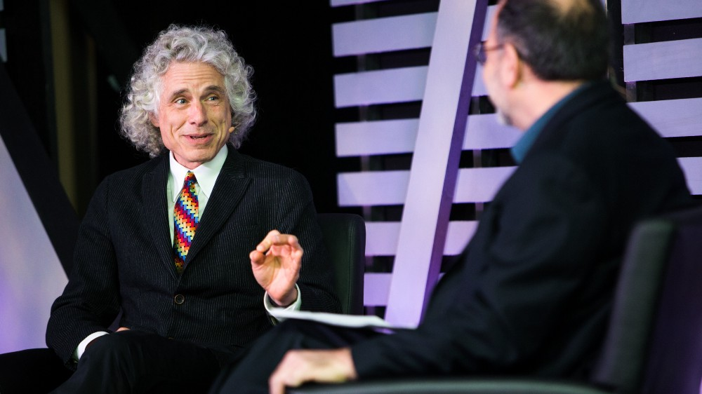 Steven Pinker on Language, Reason, and the Future of Violence (Ep