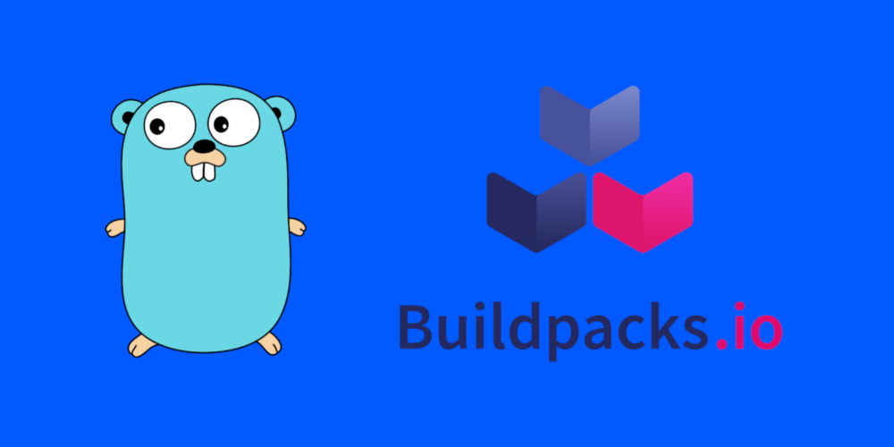 You don't need a Dockerfile to build a Go Container