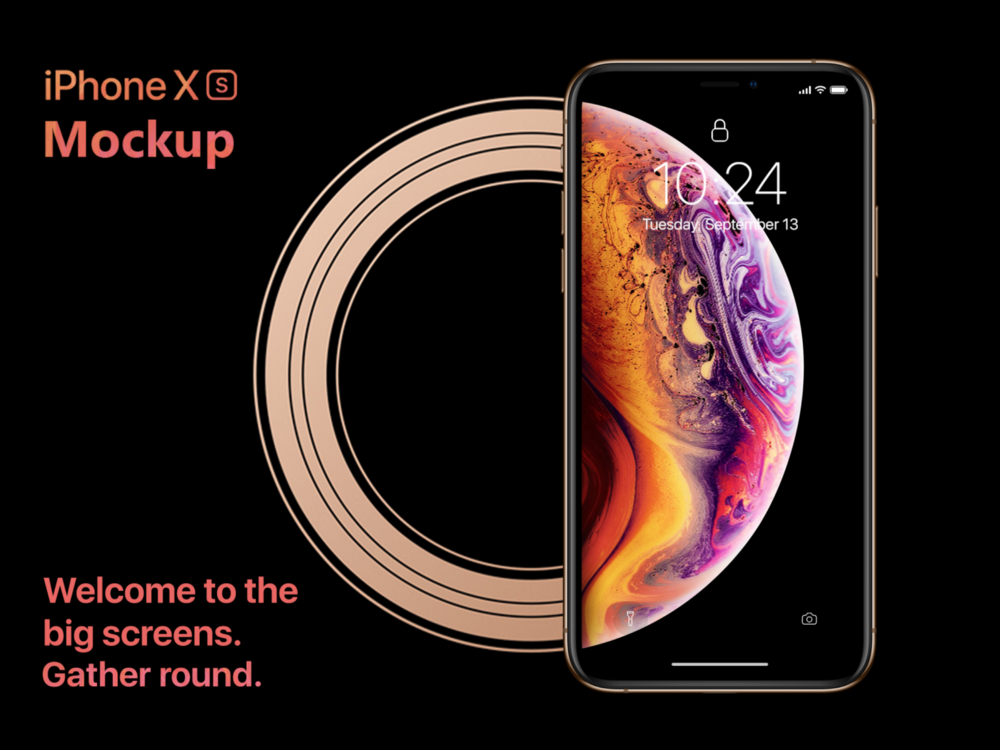 Free iPhone XS Mockups for 2019 [PSD, Sketch] - UX Planet