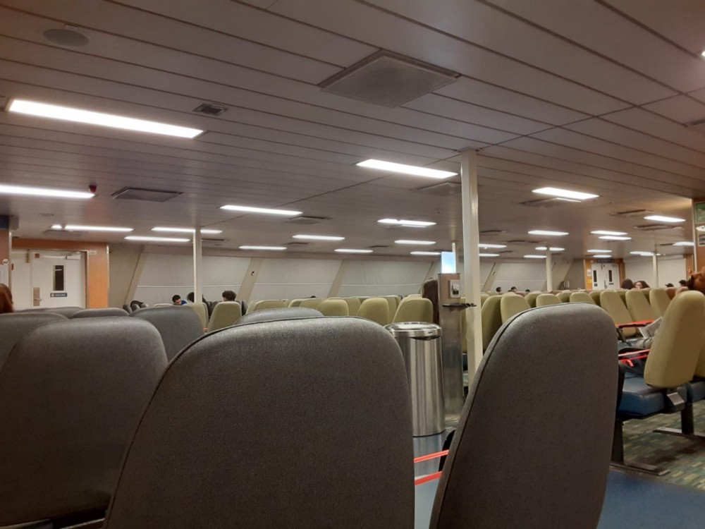 One night I cried for myself on the ferry between Vancouver and Victoria