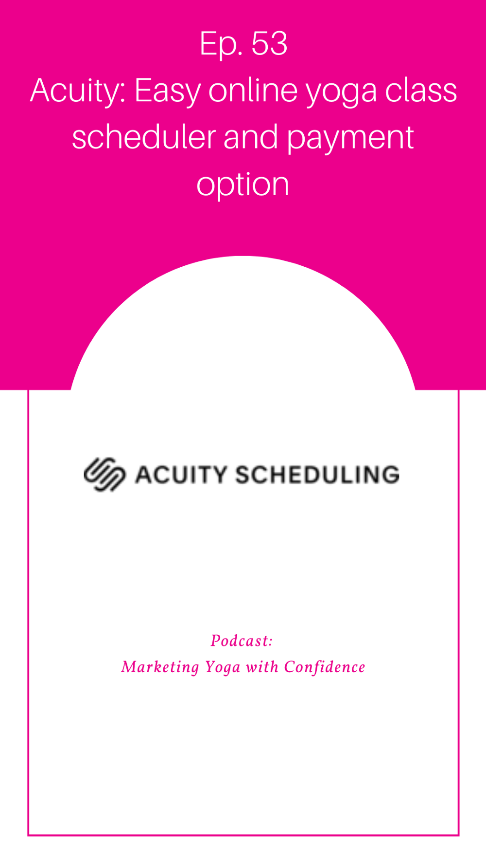 Acuity Scheduling: Easy online yoga class scheduler and payment option