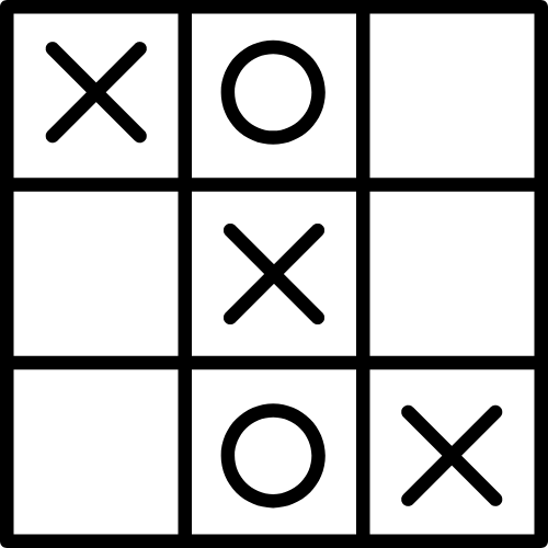 Tic Tac Toe Game (created by author)