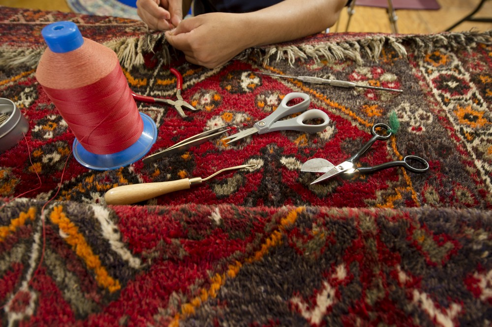 Fringe Repair Services At The Rug Ping