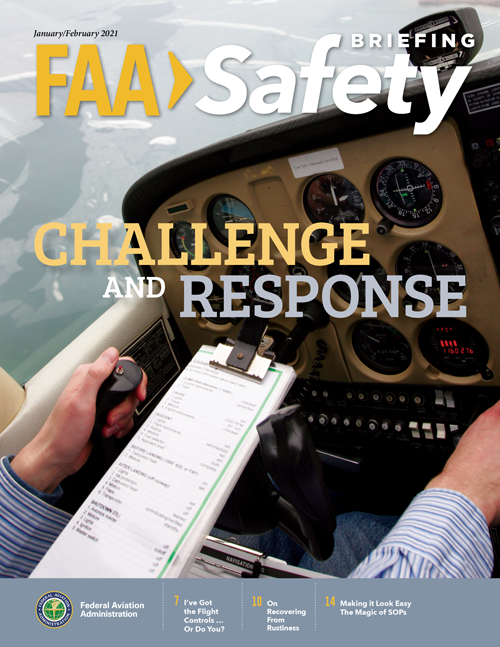 FAA Safety Briefing Magazine cover