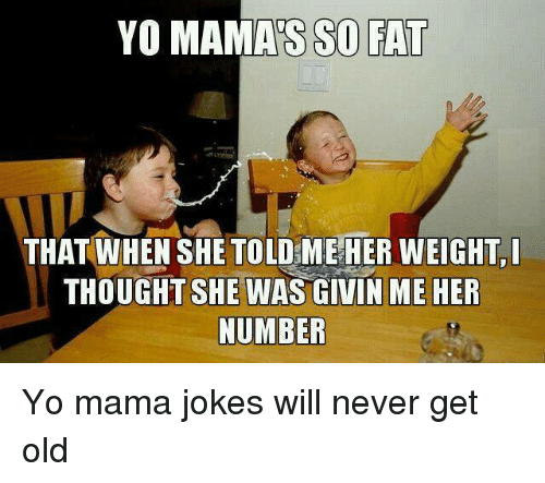 Mama Jokes And The Road To Disrespect