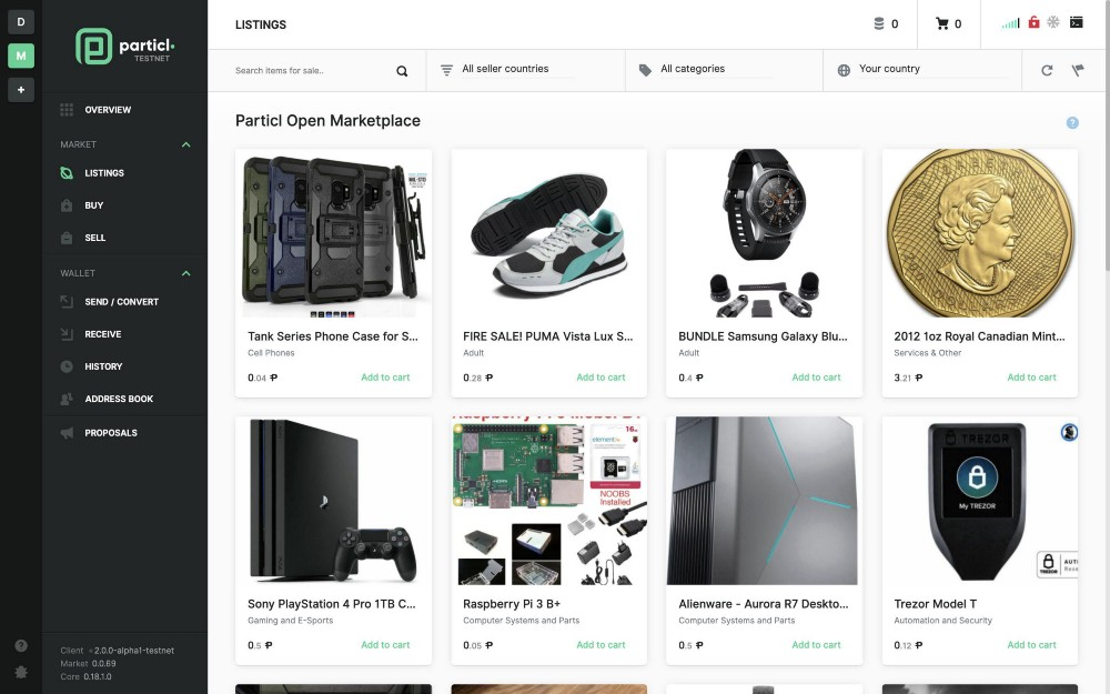 Particl Open Marketplace — What to Expect on Day 1 - Particl News