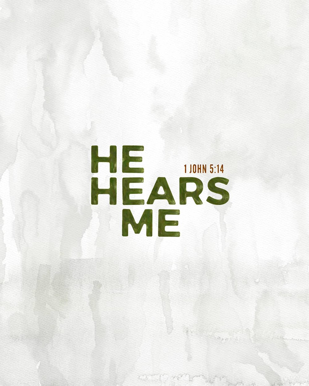 He hears me | Small Voice Today