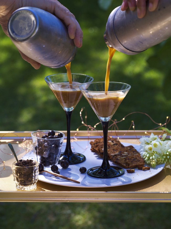 Image of Cocktail Collectives Espresso Martini poured into a glass