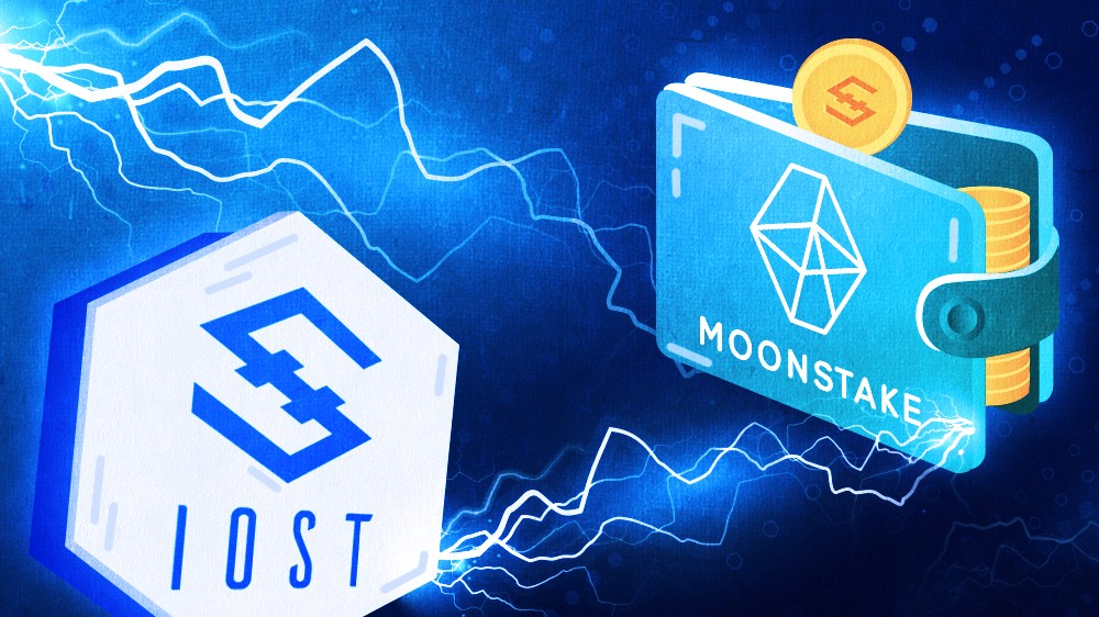 IOST Partners with Top Staking Network- Moonstake