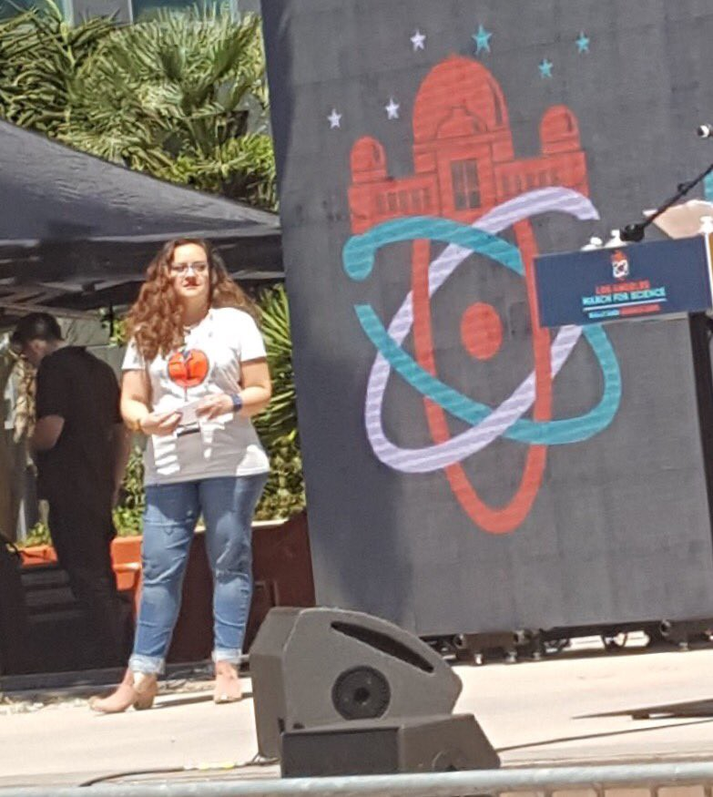 Standing Up & Speaking Out: SACNISTA speeches from March for Science