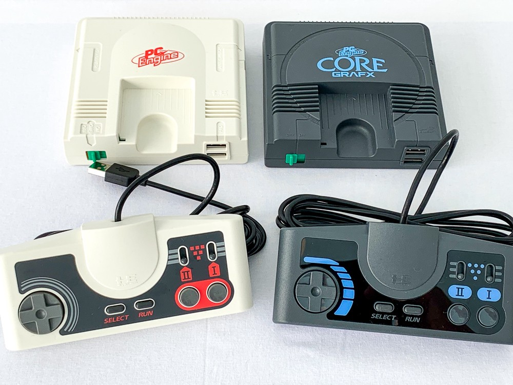 Konami's PC Engine mini introduced in Tokyo first time