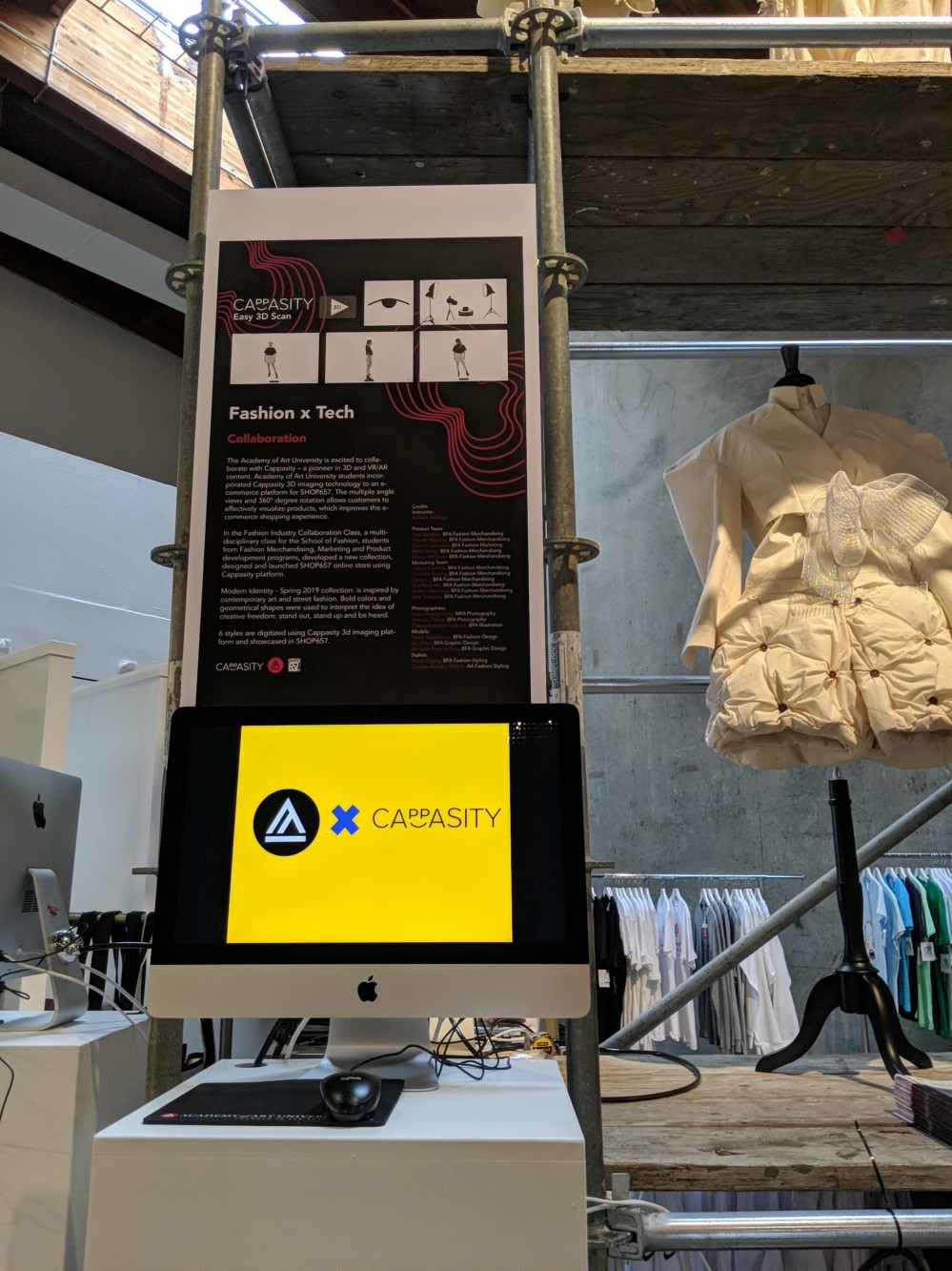 Cappasity Brings 3D Technologies to the Spring Show at San Francisco