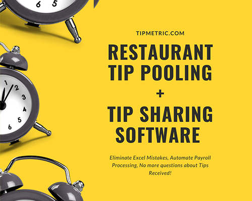 2020 Automated Restaurant Tip Pooling + Tip Sharing | TipMetric Software