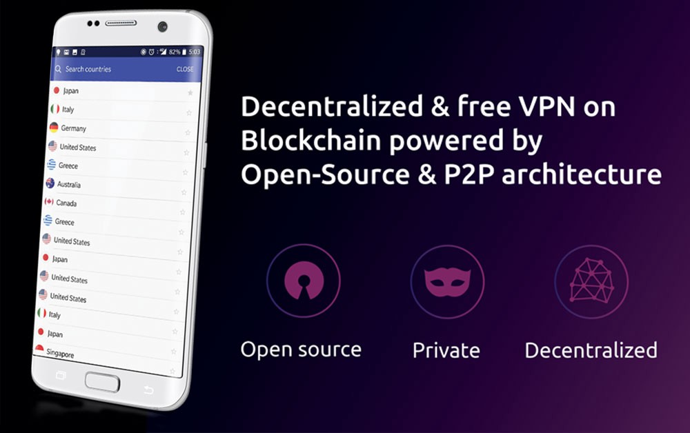 MysteriumVPN app for mobile Android now available