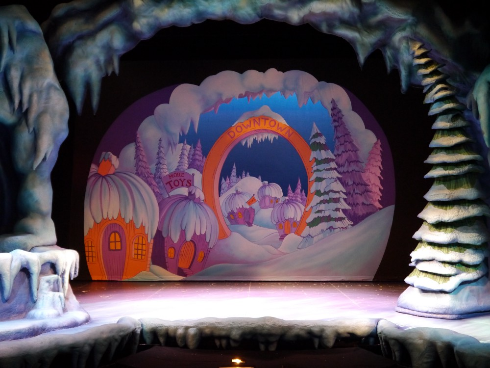 Whoville backdrop photo by Peter Baker