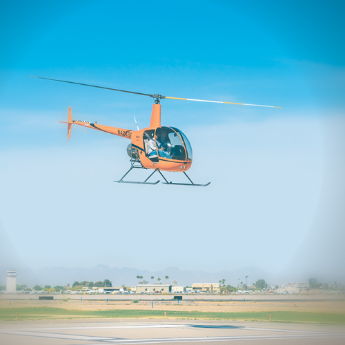 Photo of helicopter.