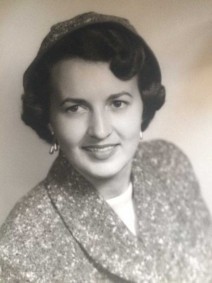 A lovely photograph of my mother as a young woman.