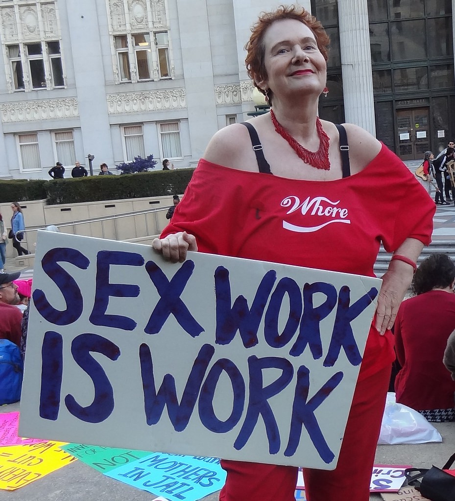 """Carol Leigh, creator of the term """"sex work"""" and self-proclaimed """"mother of the sex worker rights movement."""""""