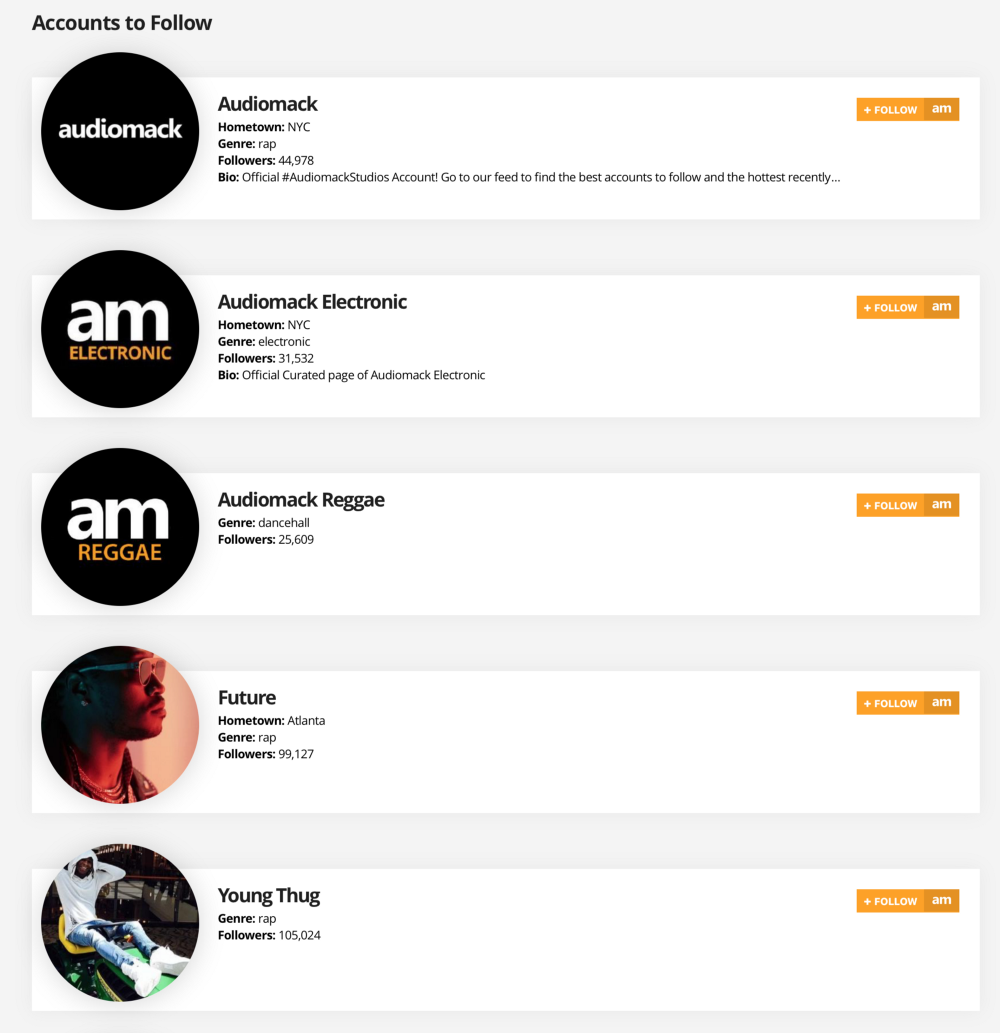 Getting started on Audiomack (for Fans) - The Audiomack Blog