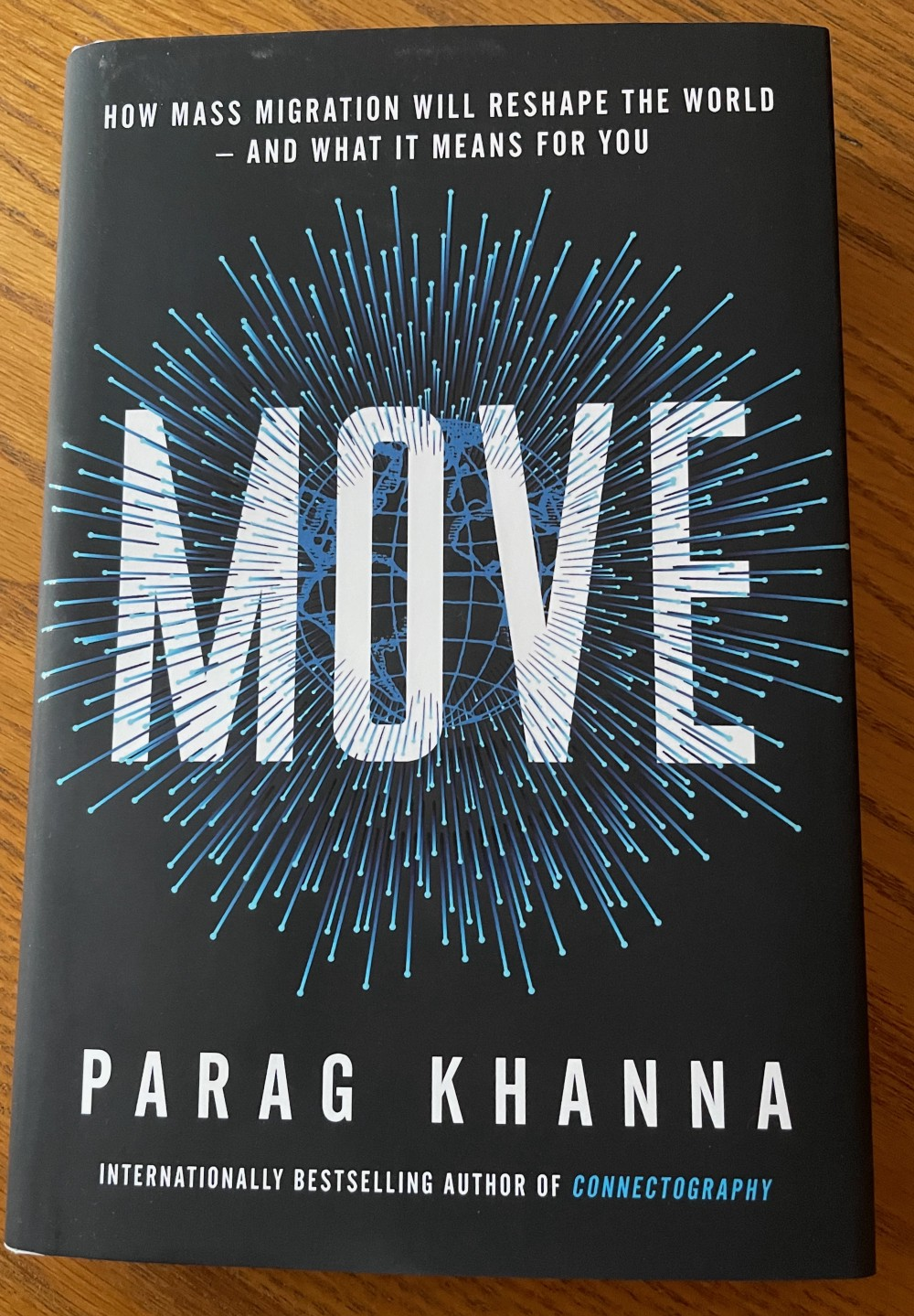 Book cover graphic of MOVE by Parag Khanna