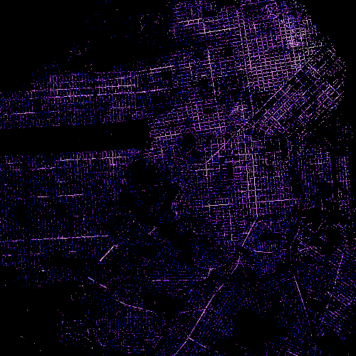 Large Scale Visualizations and Mapping with Datashader